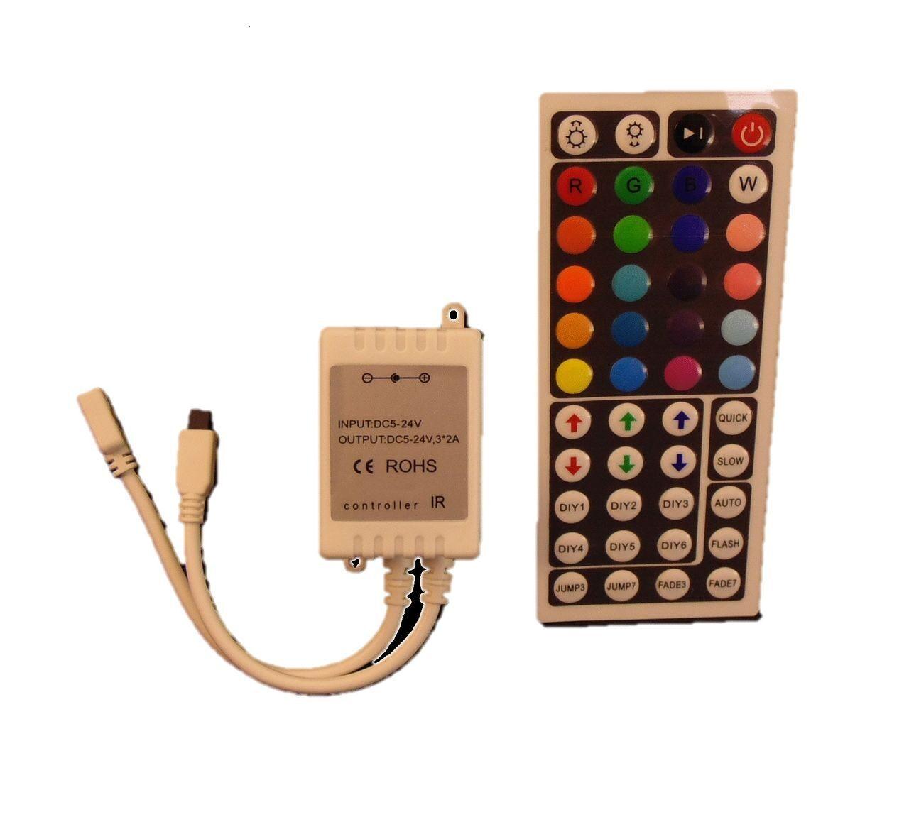 Схема RGB контроллера для светодиодной ленты 99