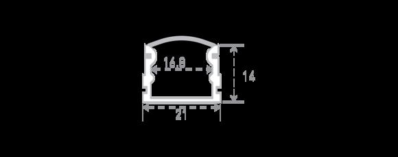 профиль SF-2121-RD размеры