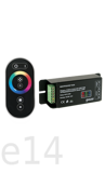 контроллер для RGB ленты сенсорный черный gauss